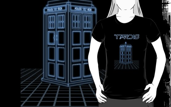 TARDIS by ToneCartoons