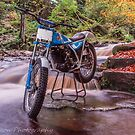 Bultaco Sherpa Falls by neil sturgeon