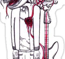 Kurt Cobain's Image of Fear Sticker