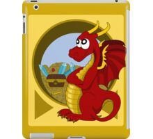 Cartoon red dragon  iPad Case/Skin