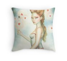 Black Widow By Scot Howden Throw Pillow