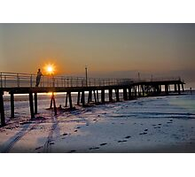 Wildwood NJ sunrise Photographic Print