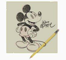 Walt Disney - Mickey Sketch Kids Clothes