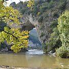Pont d'Arc - Ardeche - France by Arie Koene