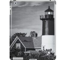 Nauset Lighthouse BW iPad Case/Skin