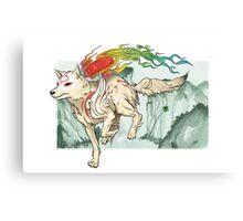 Amaterasu Canvas Print