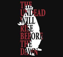 The Dead Will Rise (Inverted) Kids Tee