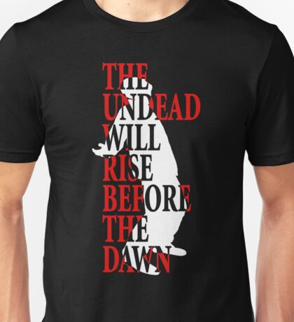 The Dead Will Rise (Inverted) Unisex T-Shirt