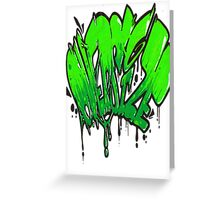 Oversize this Greeting Card