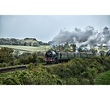 Tornado steaming through the countryside Photographic Print