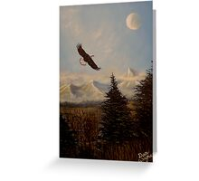 Ride the Wind Greeting Card