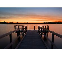 Shelley Jetty Perth Western Australia. Photographic Print