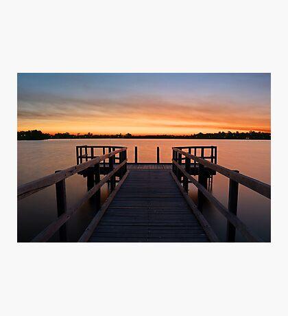 Shelley Jetty Perth Western Australia. Photographic Print