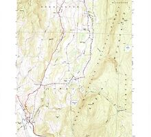 USGS Topo Map  Vermont VT Pownal 337596 1954 24000 by wetdryvac