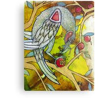 The Berry Thief Metal Print