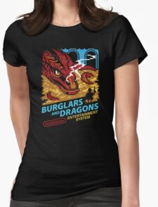 Burglars and Dragons Womens Fitted T-Shirt
