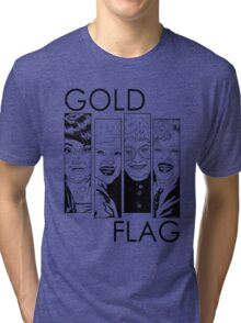 GOLD FLAG Tri-blend T-Shirt