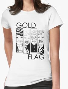 GOLD FLAG Womens Fitted T-Shirt