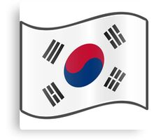 Korean Flag Canvas Print