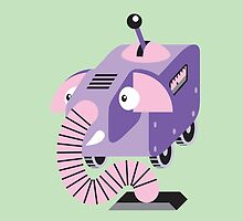 Cute Little Robot Elephant!!! by candy-shop