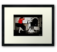 Dancing styles Framed Print