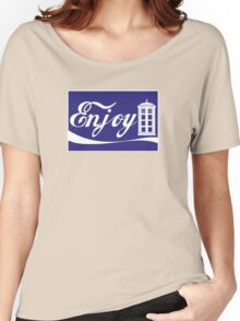 ENJOY TIME TRAVEL Women's Relaxed Fit T-Shirt