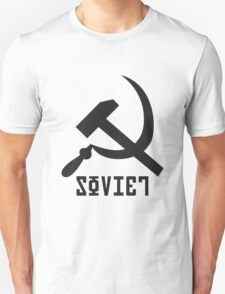 Soviet Hammer and Sickle Unisex T-Shirt