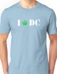 DC (Green Leaf) Unisex T-Shirt