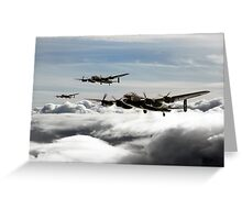 Lancaster Squadron Greeting Card