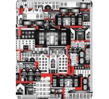 SPLASHYARTYSTORY - ALL ABOUT BUILDINGS red iPad Case/Skin