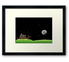 The night of the meteor 1 Framed Print