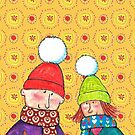 Christmas Hats by Bethan Matthews