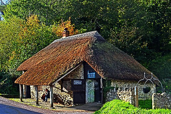 Branscombe Forge At Branscombe, Devon UK by lynn carter