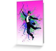 Astaire Fred, still dancing. Greeting Card