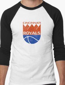 Cincinnati Royals - Distressed Men's Baseball ¾ T-Shirt