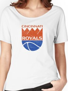 Cincinnati Royals - Distressed Women's Relaxed Fit T-Shirt
