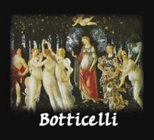 Botticelli – Primavera by William Martin
