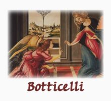 Botticelli - The Annunciation by William Martin