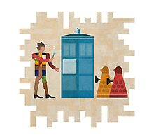 ancient doctors & daleks, oh my! Photographic Print