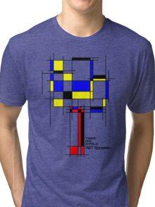 De Stijl - Trees! How Gastly! Tri-blend T-Shirt