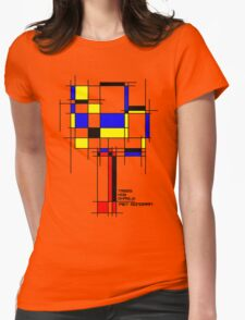 De Stijl - Trees! How Gastly! Womens Fitted T-Shirt