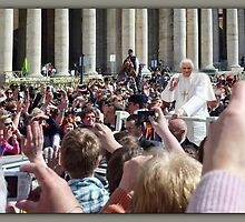 † ❤ †Pope Benedict XVI  -Papal -audience in St Peter's Basilica- Vatican- Captured April 2012 † ❤ † by ╰⊰✿ℒᵒᶹᵉ Bonita✿⊱╮ Lalonde✿⊱╮