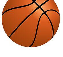 Orange Basketball by kwg2200