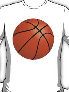 Orange Basketball T-Shirt