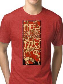 A 7% solution Tri-blend T-Shirt