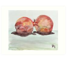 pomegranate pair Art Print