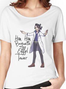 Hon Hon Baguette Eiffel Tower Women's Relaxed Fit T-Shirt