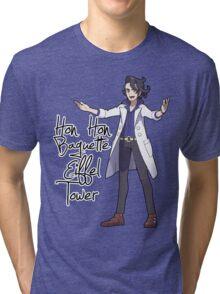 Hon Hon Baguette Eiffel Tower Tri-blend T-Shirt