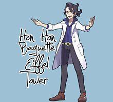 Hon Hon Baguette Eiffel Tower Womens Fitted T-Shirt