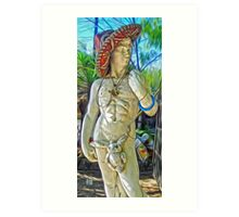 Mariachi Michelangelo Art Print